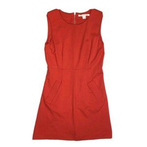 Diane Von Furstenberg 8 Red Carpreena Mini Dress